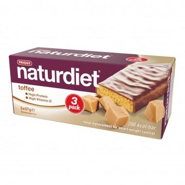 Naturdiet Toffe bar 3 pk