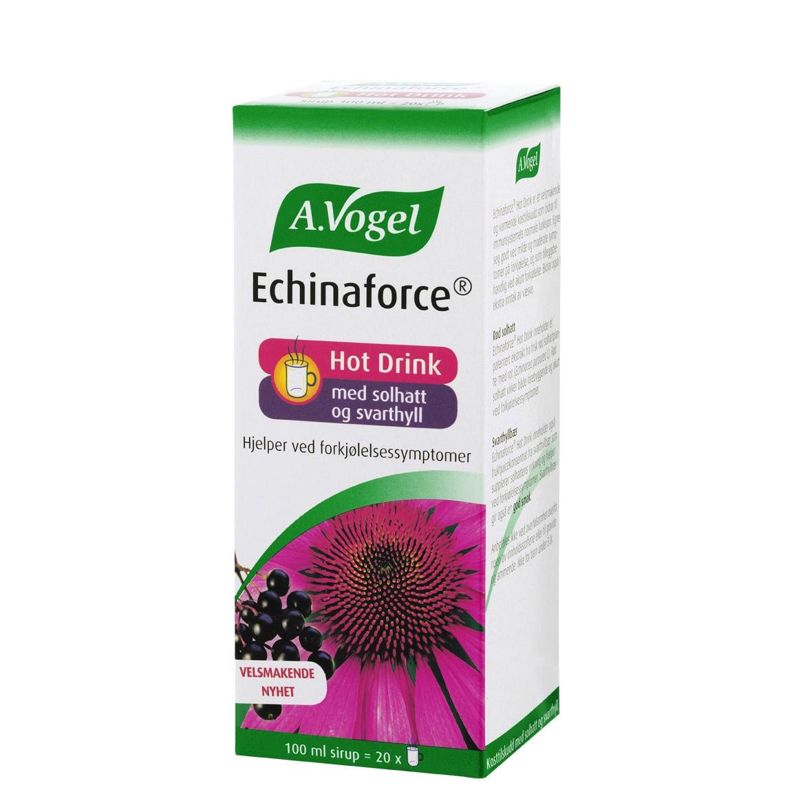 A. Vogel Echinaforce Hot Drink (eske, forside)
