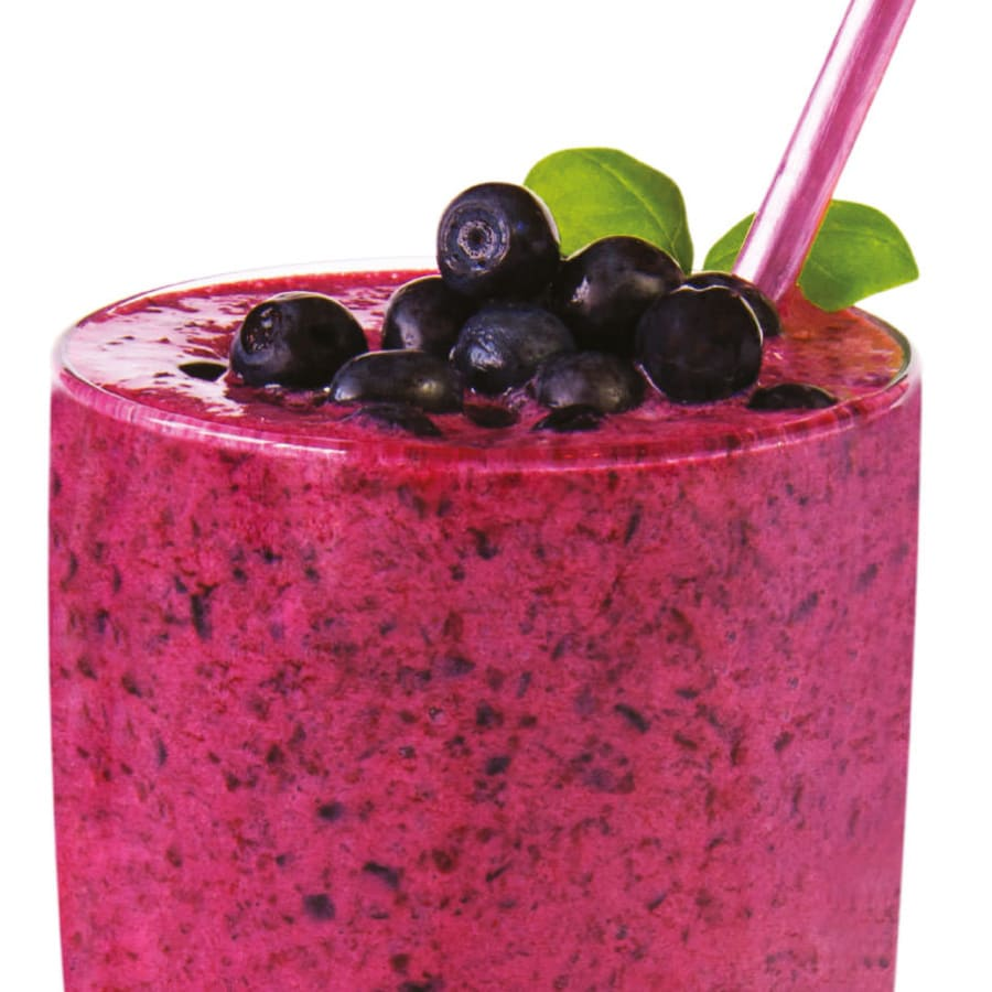 Blåbær Bliss Smoothie