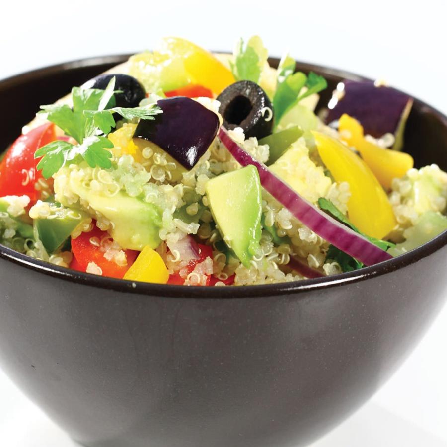 Lun quinoa salat