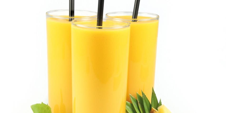 Papaya-smoothie for fordøyelsen