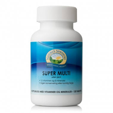 Nature's Sunshine Super Multi uten jern