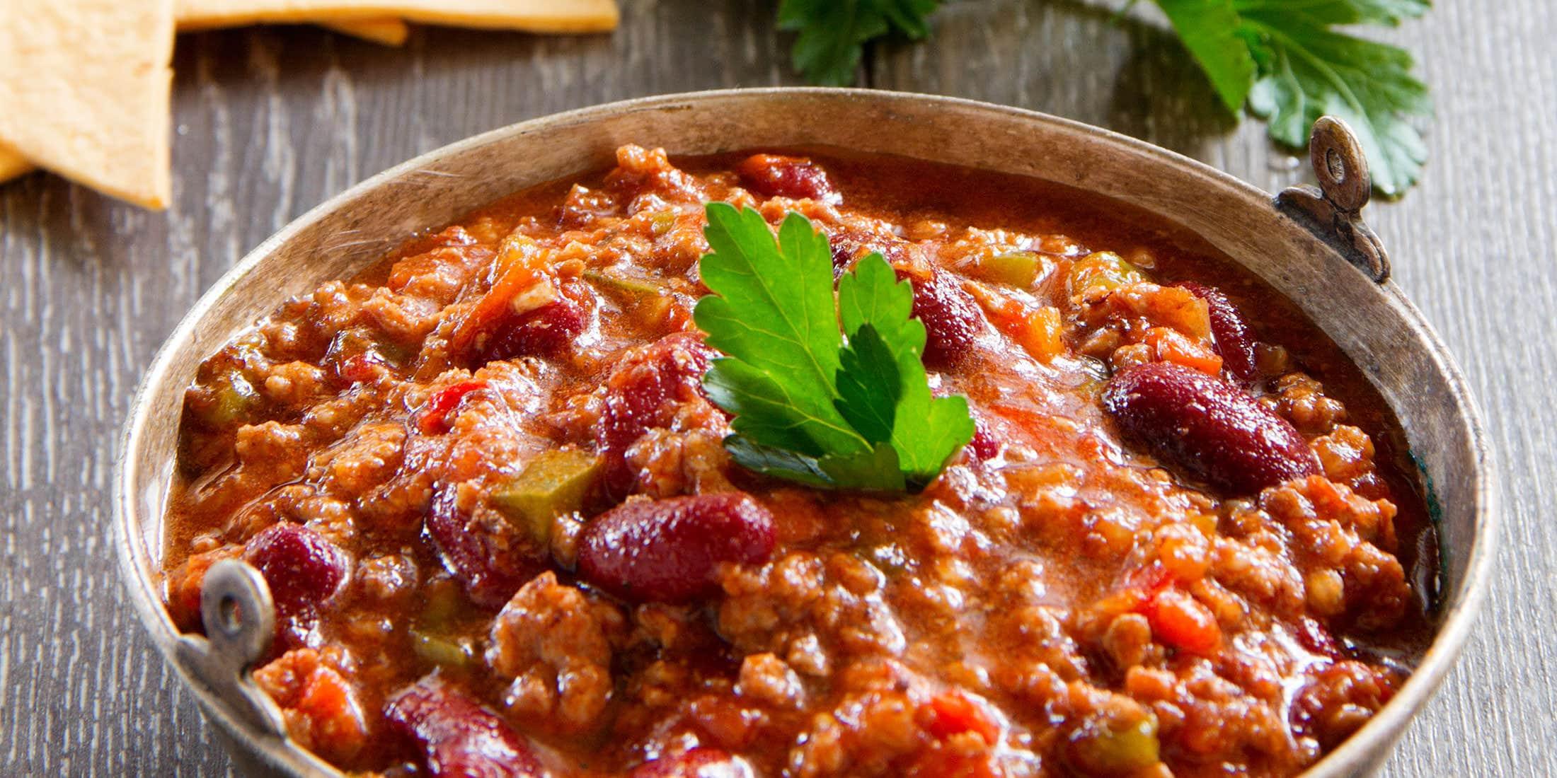 Фото блюдо чили