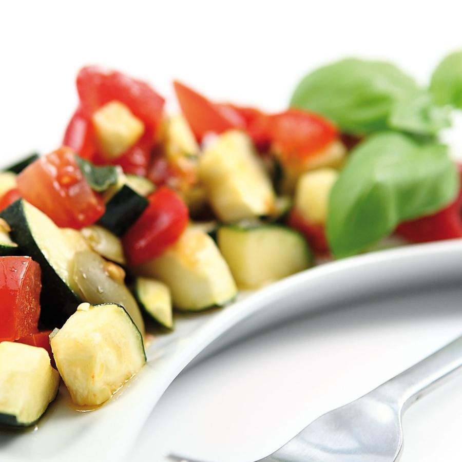 Grønnsaker på italiensk vis