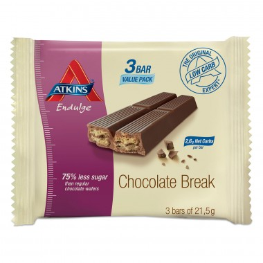 Atkins Endulge Chocolate Break 3x21,5 g