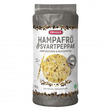 Friggs Maiskake Hampfrø Pepper