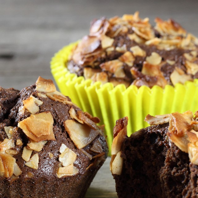 Cocosa chips muffins