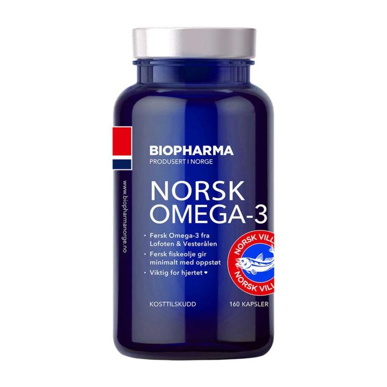 Biopharma Norsk Omega 3-6