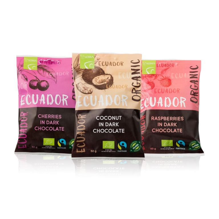 Ecuador Sjokoladetrukket Sjokoladekuler Gruppe