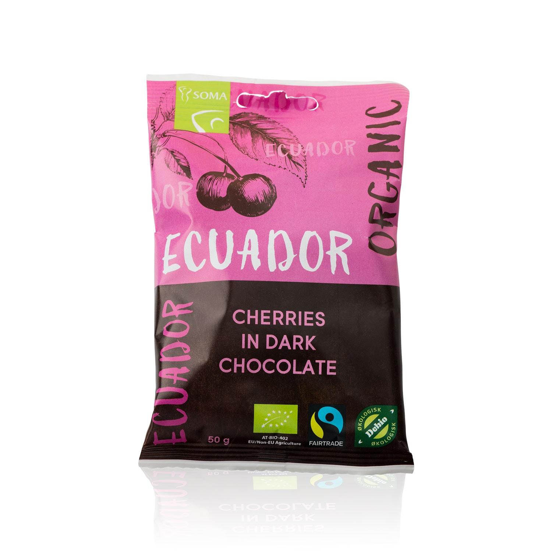 Ecuador Sjokoladetrukket Kirsebær