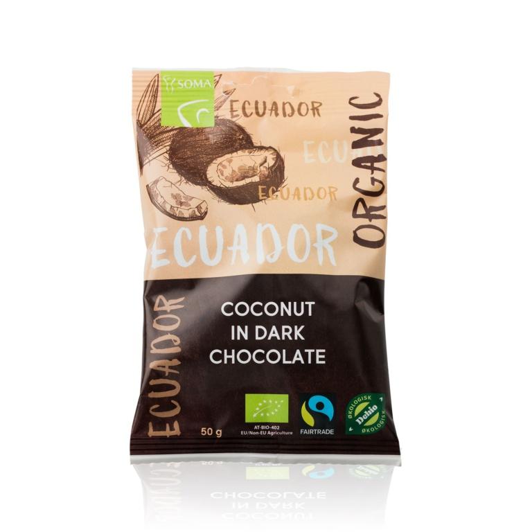 Ecuador Sjokoladetrukket Kokos