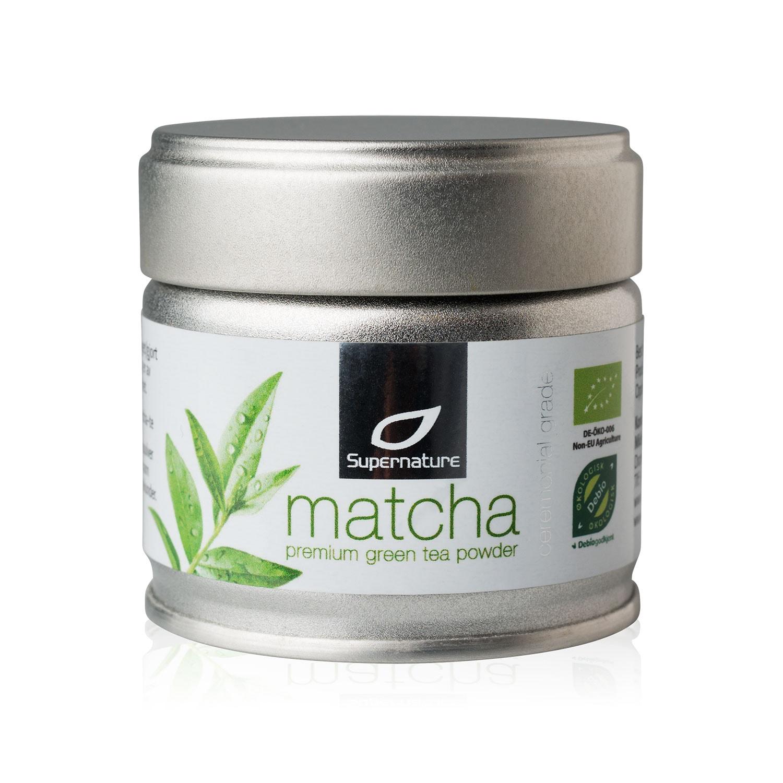 Supernature Matcha Premium Green Tea Powder