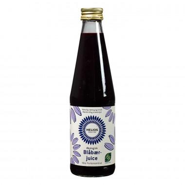 Helios Blåbærjuice usøtet økologisk