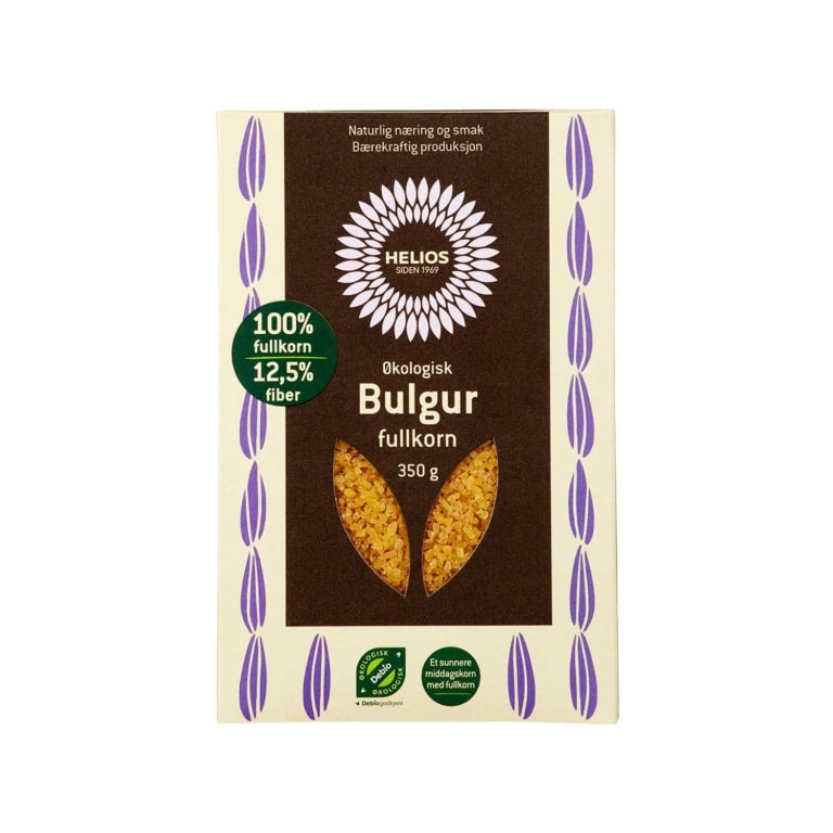 Helios Bulgur Fullkorn Økologisk