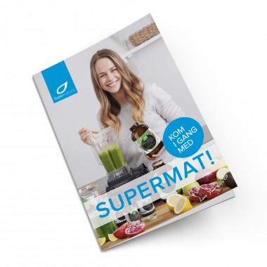 Forsiden av brosjyren Kom i gang med supermat