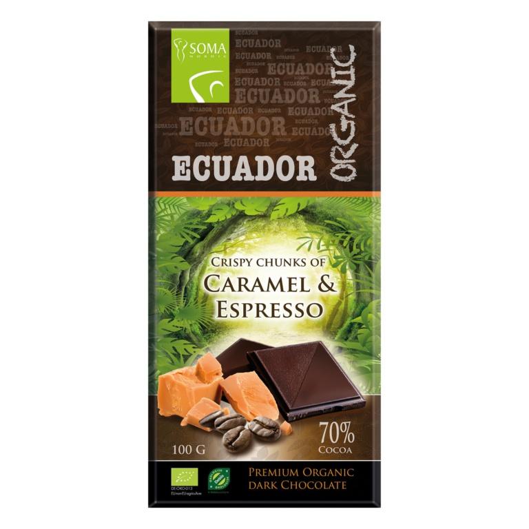 Ecuador Organic 70% Espresso og Karamell