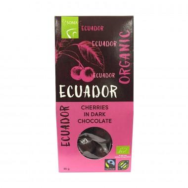 Ecuador Sjokoladetrukket Kirsebær Gaveeske