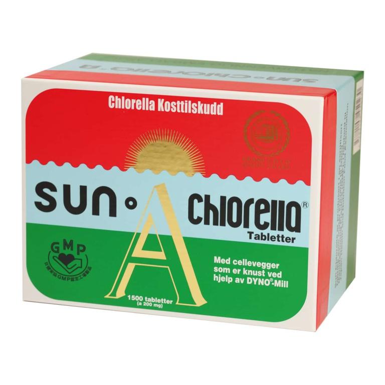 Sun Chlorella 1500 tabletter
