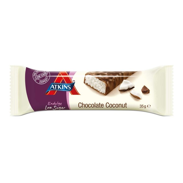 Atkins Endulge Low Sugar Chocolate Coconut bar