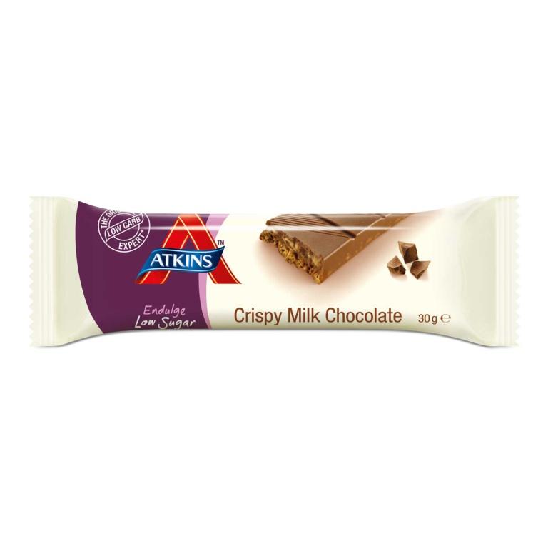 Atkins Endulge Low Sugar Crispy Milk bar