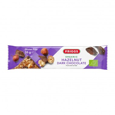 Friggs Hazelnut Dark Chocolate bar