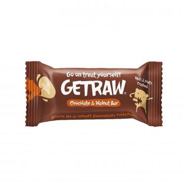 Getraw Sjokolade og Valnøtt Vegansk Glutenfri