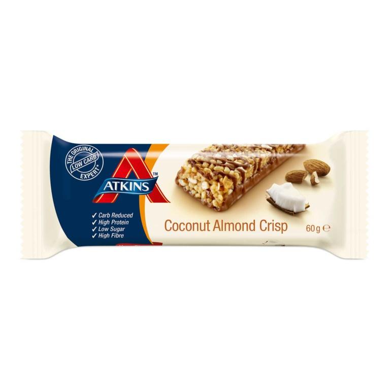 Atkins Advantage Coconut Almond bar