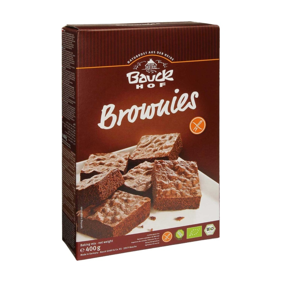 Bauck Brownie-miks Glutenfri Økologisk