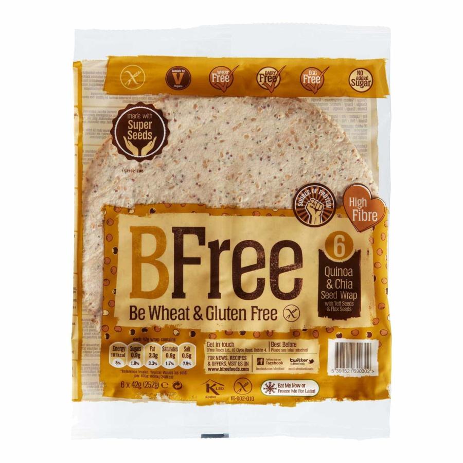 BFree Wraps Flerkorn m/chia