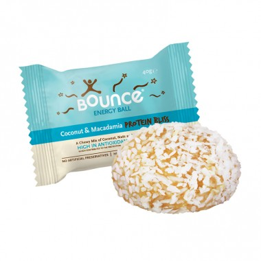 Bounce Energy Ball Kokos og Macadamia