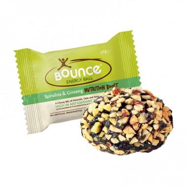 Bounce Energy Ball Spirulina og Ginseng