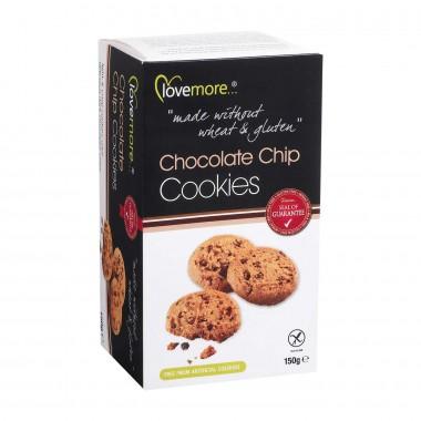 Lovemore Kjeks m/sjokoladebiter Glutenfri Melkefri