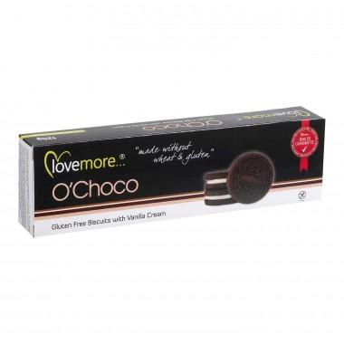 Lovemore Fylte kjeks m/Sjokolade Glutenfri