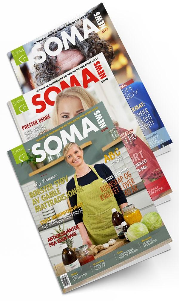3 Soma News-utgaver på rekke
