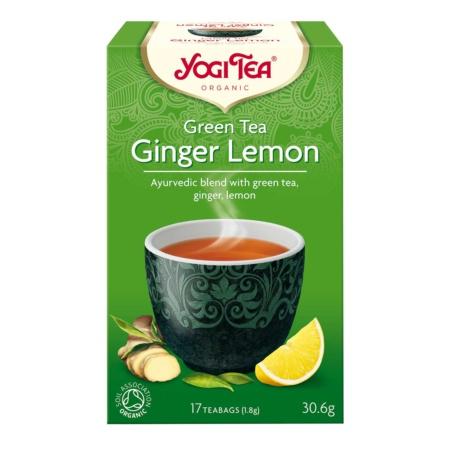Yogi Tea Green Ginger Lemon