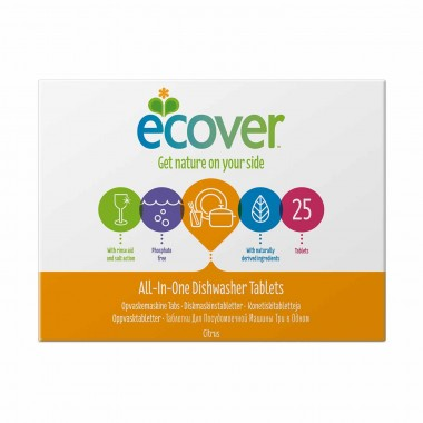 Ecover oppvaskmaskintabletter All-in-One