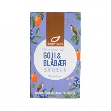 Supernature Tea Blueberry Goji