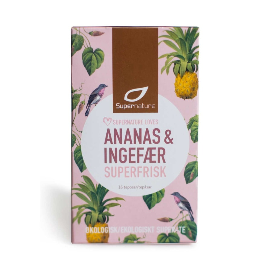 Supernature Tea Ginger Pineapple