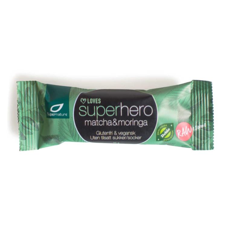 Supernature Superhero Matcha Moringa