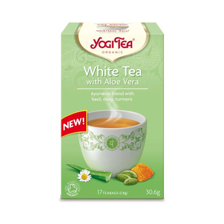 Yogi Tea White Tea m/Aloe Vera