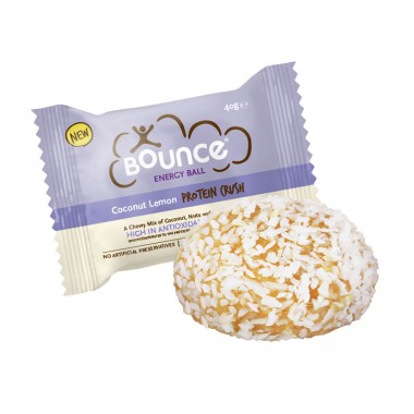 Bounce Energy Balls, Coconut Lemon