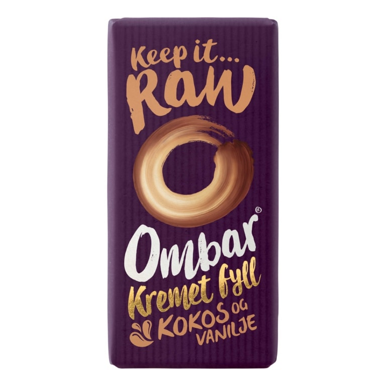 Produktbilde av Ombar Kremet Fyll Kokos og Vanilje