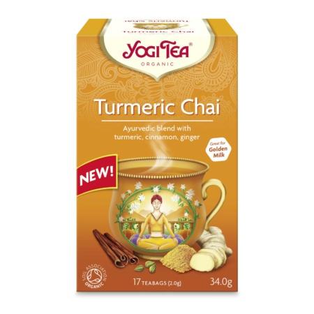 Produktbilde yogi Tea Tumeric Chai
