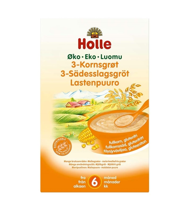 holle 3-kornsgrøt