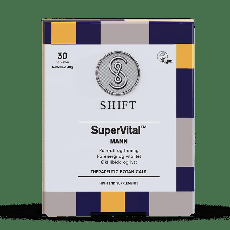 SHIFT SuperVital Mann 30tbl